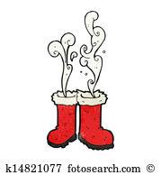 Santa boots Clip Art EPS Images. 1,439 santa boots clipart vector.