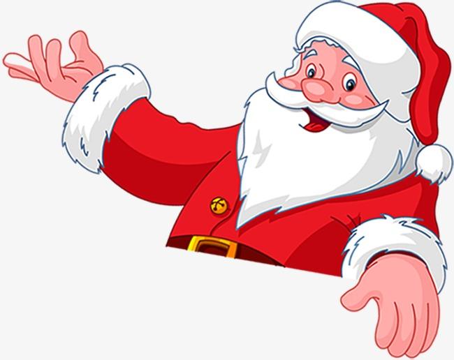 Santa Claus Waving Png & Free Santa Claus Waving.png Transparent.