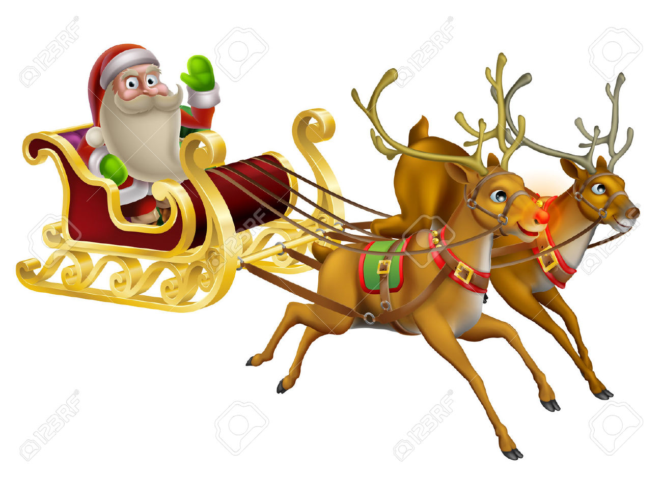 clipart santa claus riding a horse clipground. Black Bedroom Furniture Sets. Home Design Ideas