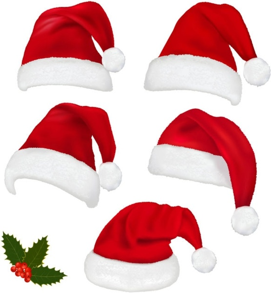 Santa hat free vector download (1,696 Free vector) for commercial.