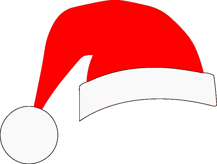 Santa hat free to use cliparts.