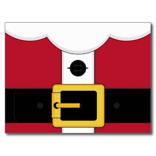 Santa suit clipart.