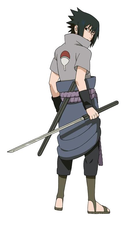 Sasuke Uchiha PNG Clipart Picture.