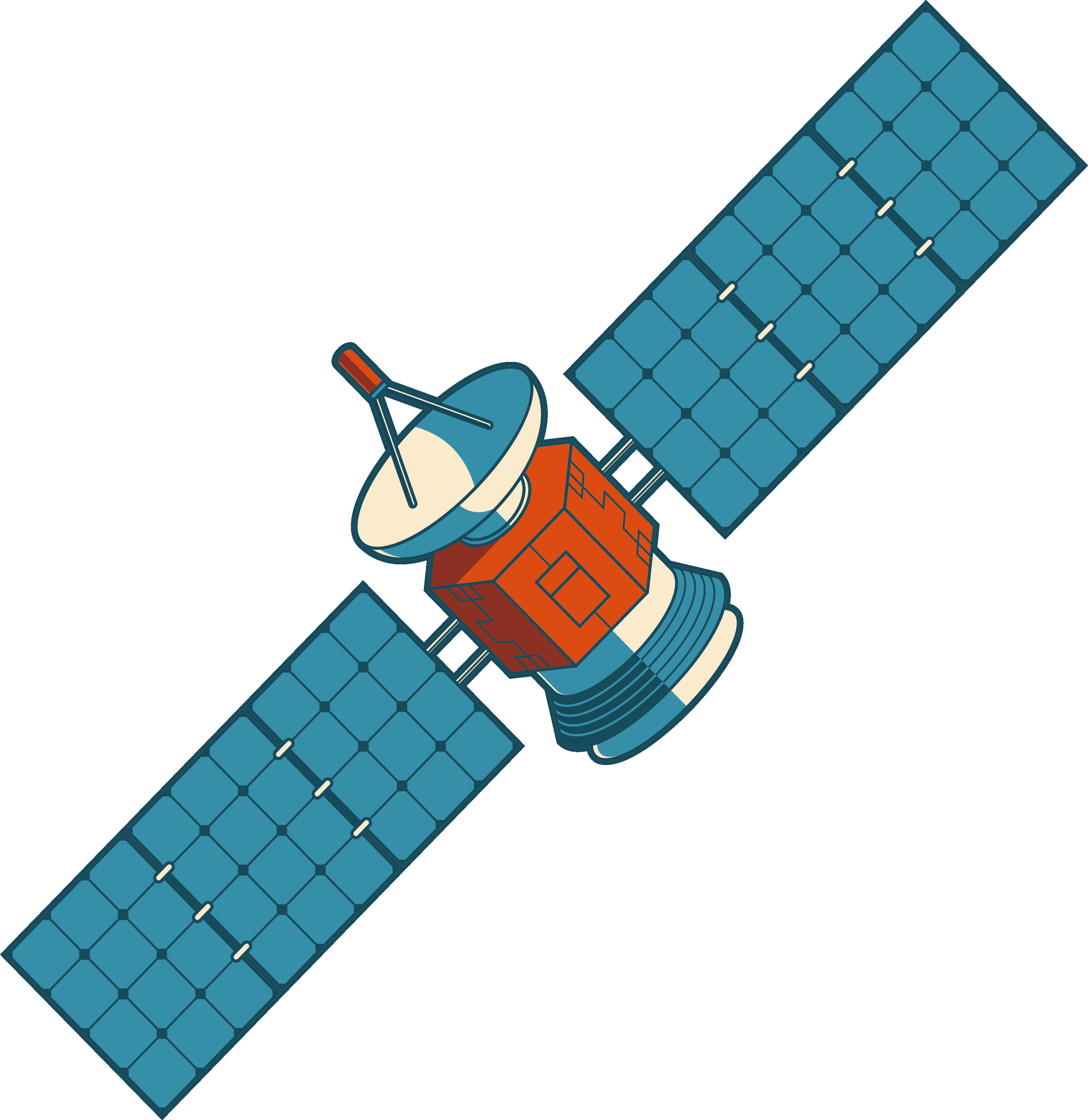 Satellite Nilesat Clip art.