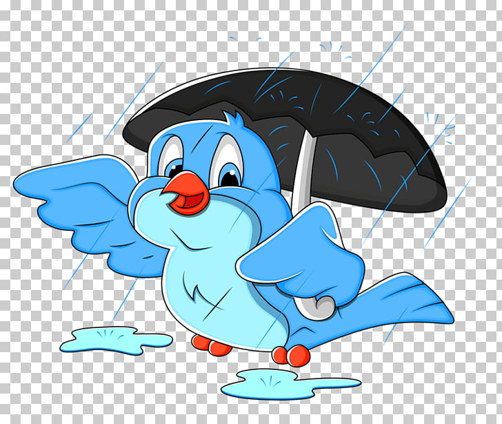 Happiness Blessing Saturday Family, Umbrella birds PNG.