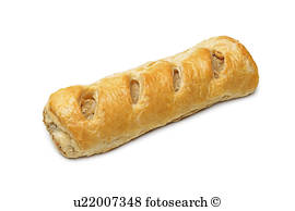 Sausage Roll Stock Images.