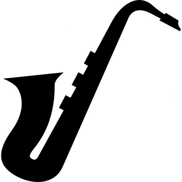 Saxophone cliparts.