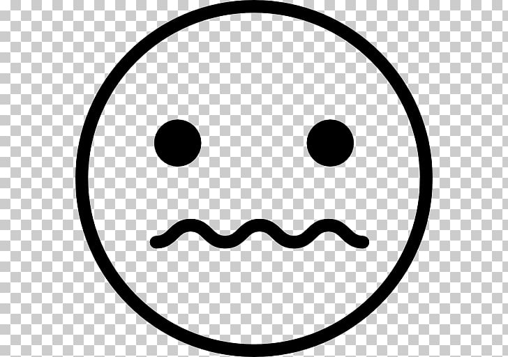 Emoticon Smiley Emoji Computer Icons , Scared Face PNG.