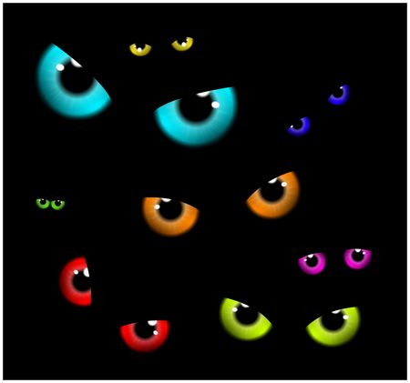 38,012 Scary Eyes Stock Illustrations, Cliparts And Royalty Free.