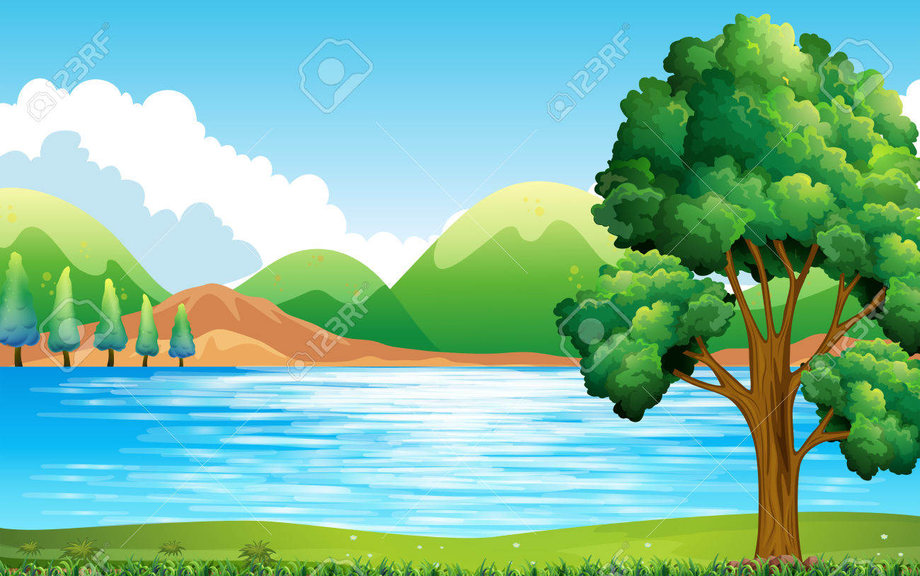 Clipart Of Nature Scenes.