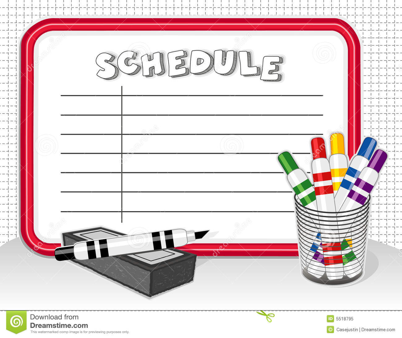 Schedule clipart 1 » Clipart Station.