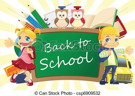 School background Vector Clipart Royalty Free. 126,718 School.