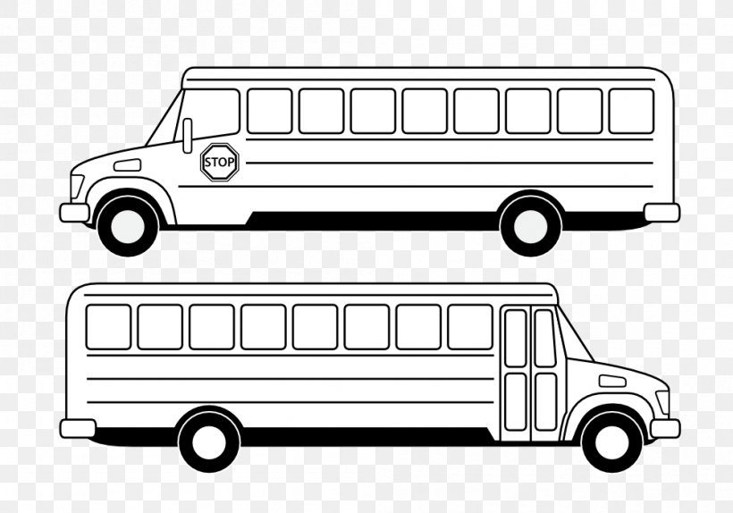 School Bus Black And White Clip Art, PNG, 999x700px, Bus.