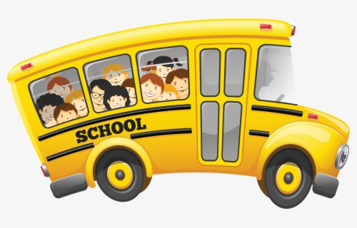 Free School Bus Free Clip Art with No Background.