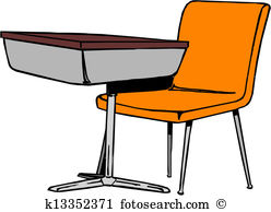 School chair Clip Art and Illustration. 1,652 school chair clipart.