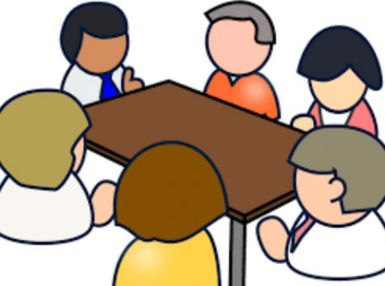School Board Meeting Clipart.