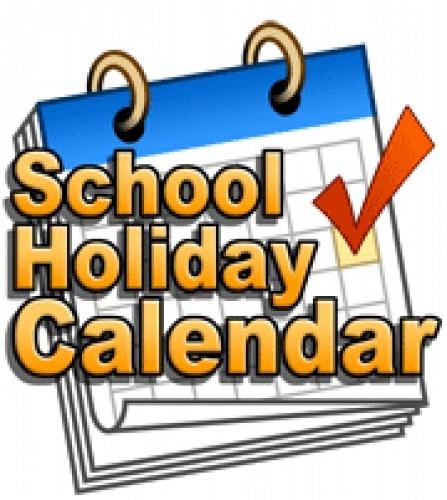 School Holidays Clipart.