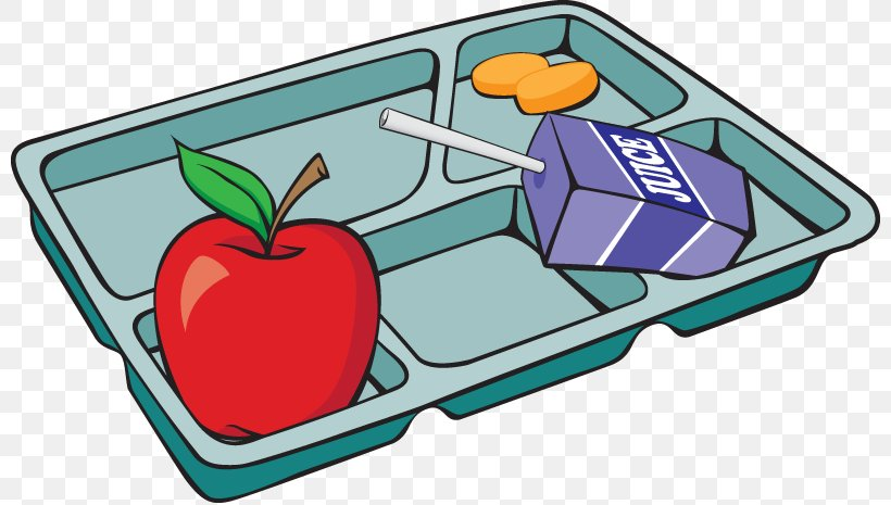 Lunch Tray Breakfast School Meal Clip Art, PNG, 800x465px.