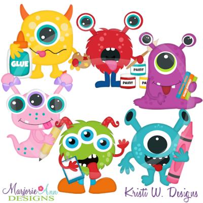 Monster School Clipart.