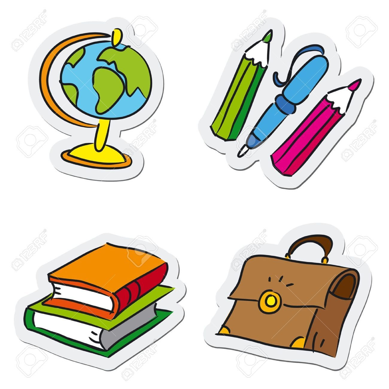 Clipart school objects 8 » Clipart Portal.