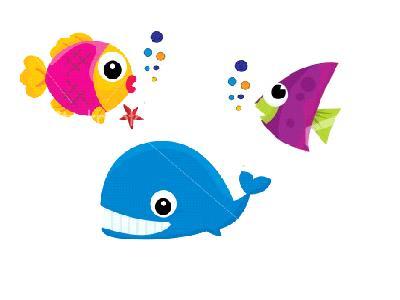 Best School of Fish Clipart #27579.