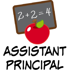 Elementary School Principal Clip Art.