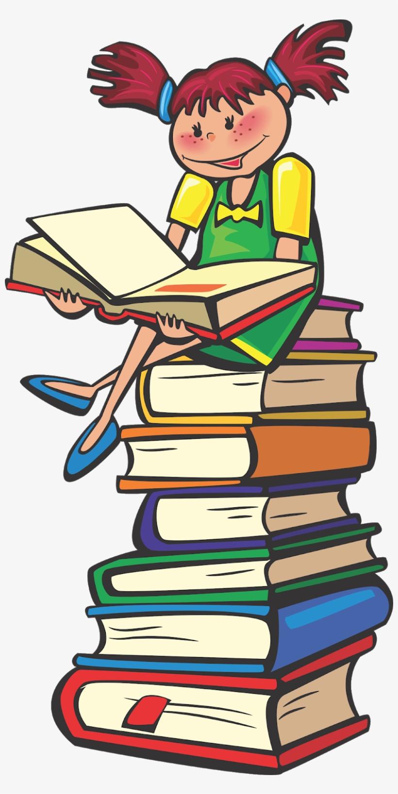 School Students Vector, Student Vector, Books Vector,.