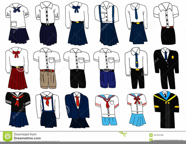 School Uniform Clipart Free.