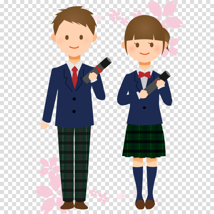 School uniform clipart.