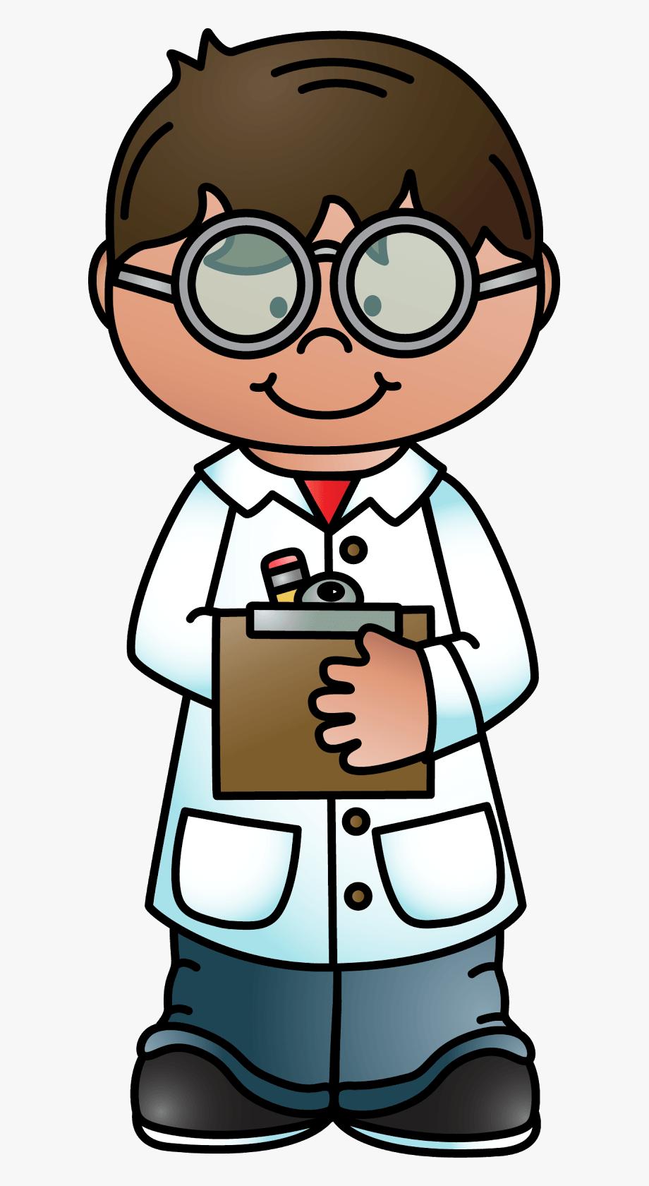 Scientist Clipart Science Teacher.