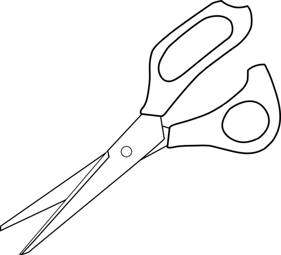 Free Black And White Scissors Clipart, Download Free Clip.