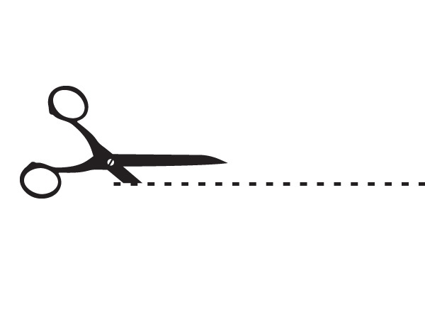 PNG Scissors Cutting Dotted Line Transparent Scissors.