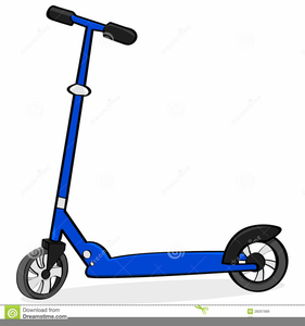 Mobility Scooter Clipart Free.