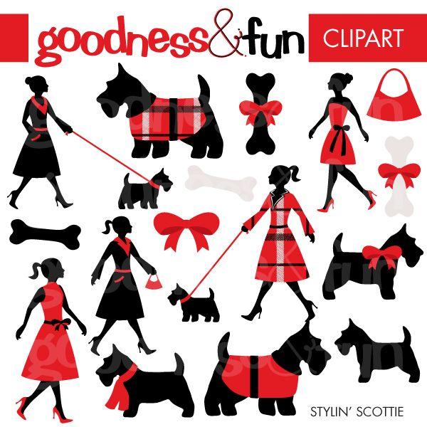 17 Best images about Scottie Dogs: Clip Art. Graphics, Line.