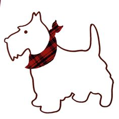Scottish Terrier Digital Clip Art Clipart by CollectiveCreation.