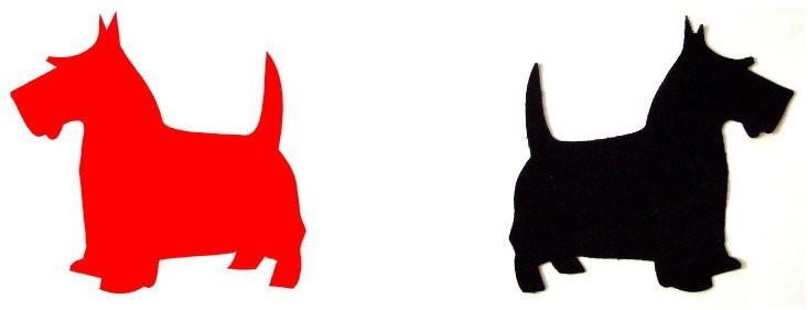 Scottish Terrier Clip Art.