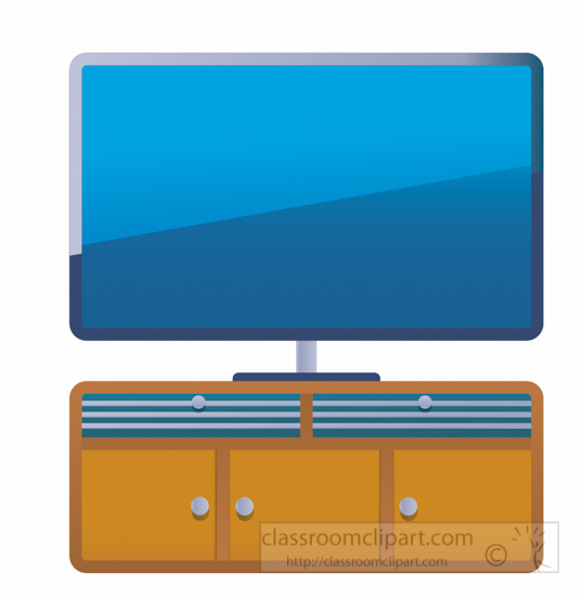 Flat Screen Tv Clipart.