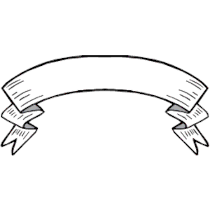 Blank scroll banner free clipart images.