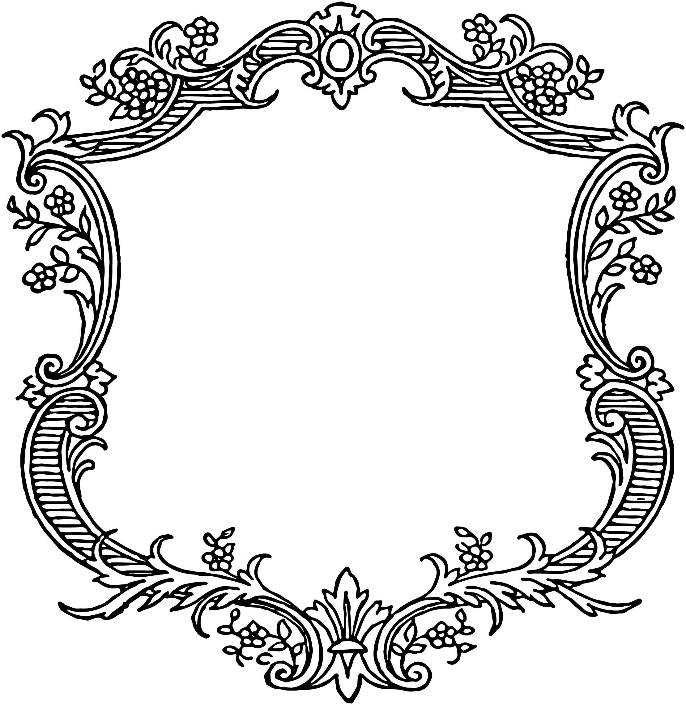 Free Scroll Borders, Download Free Clip Art, Free Clip Art.