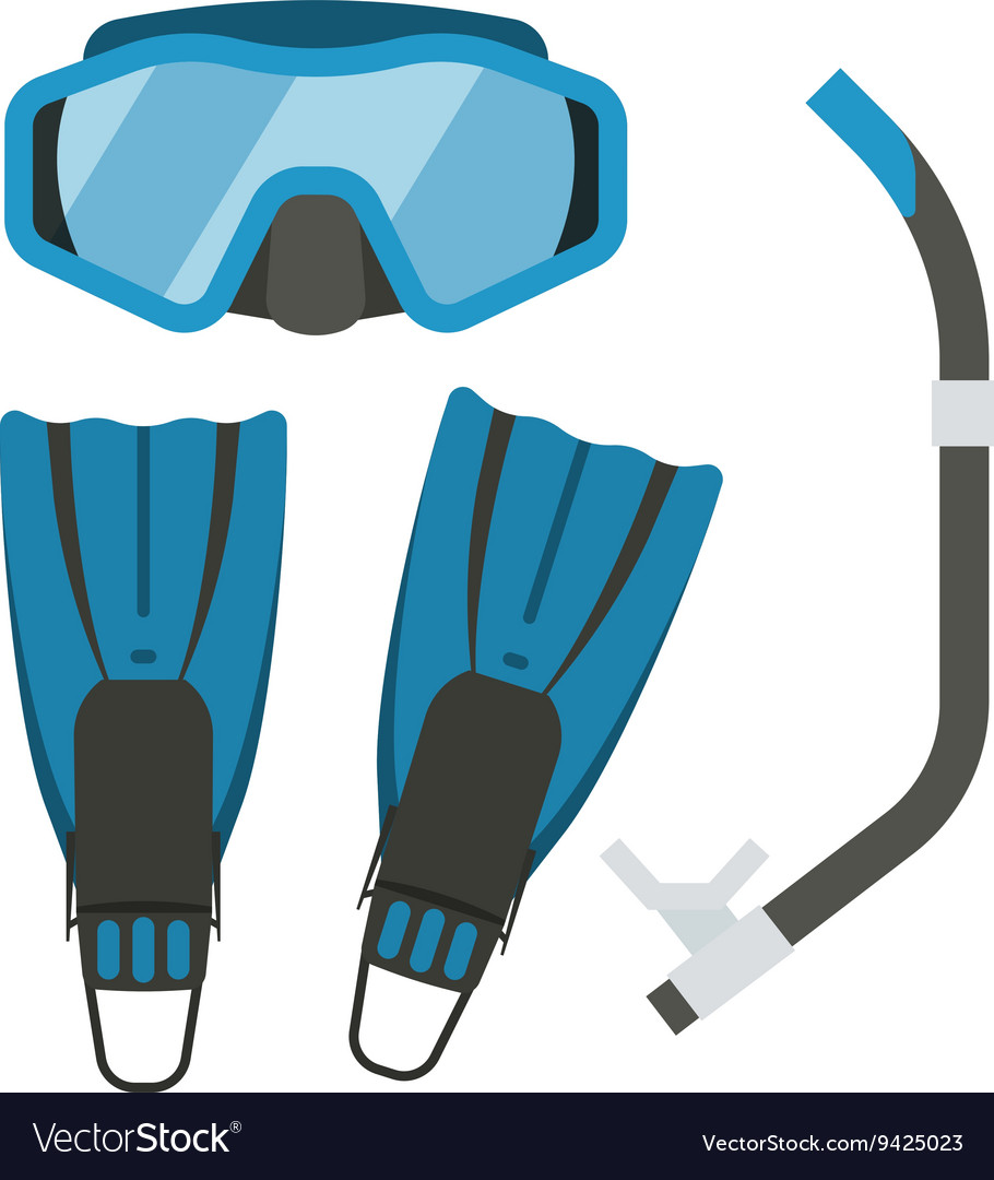 Snorkeling and Diving Gear.