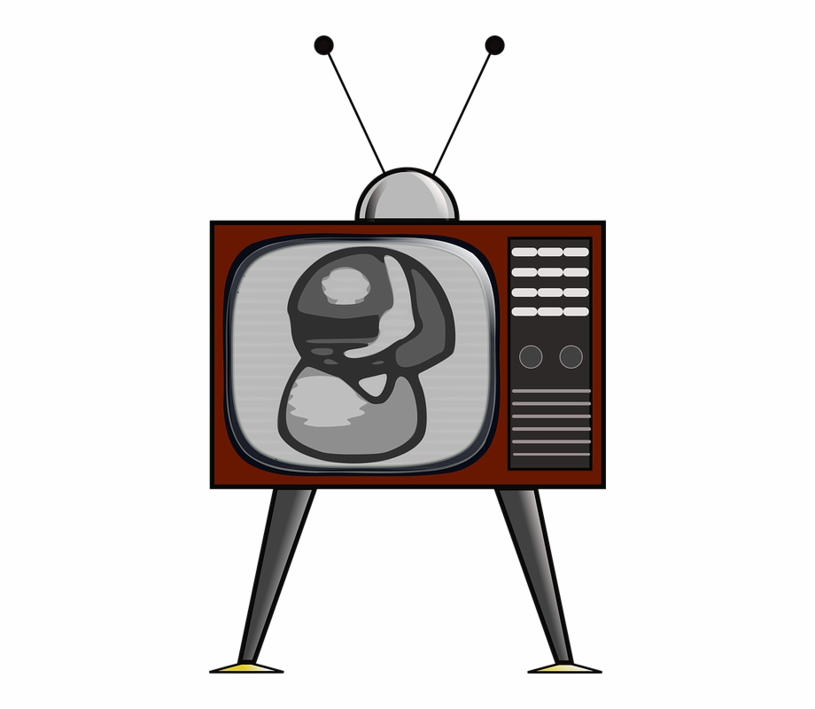 Antenna Clipart Old Tv.