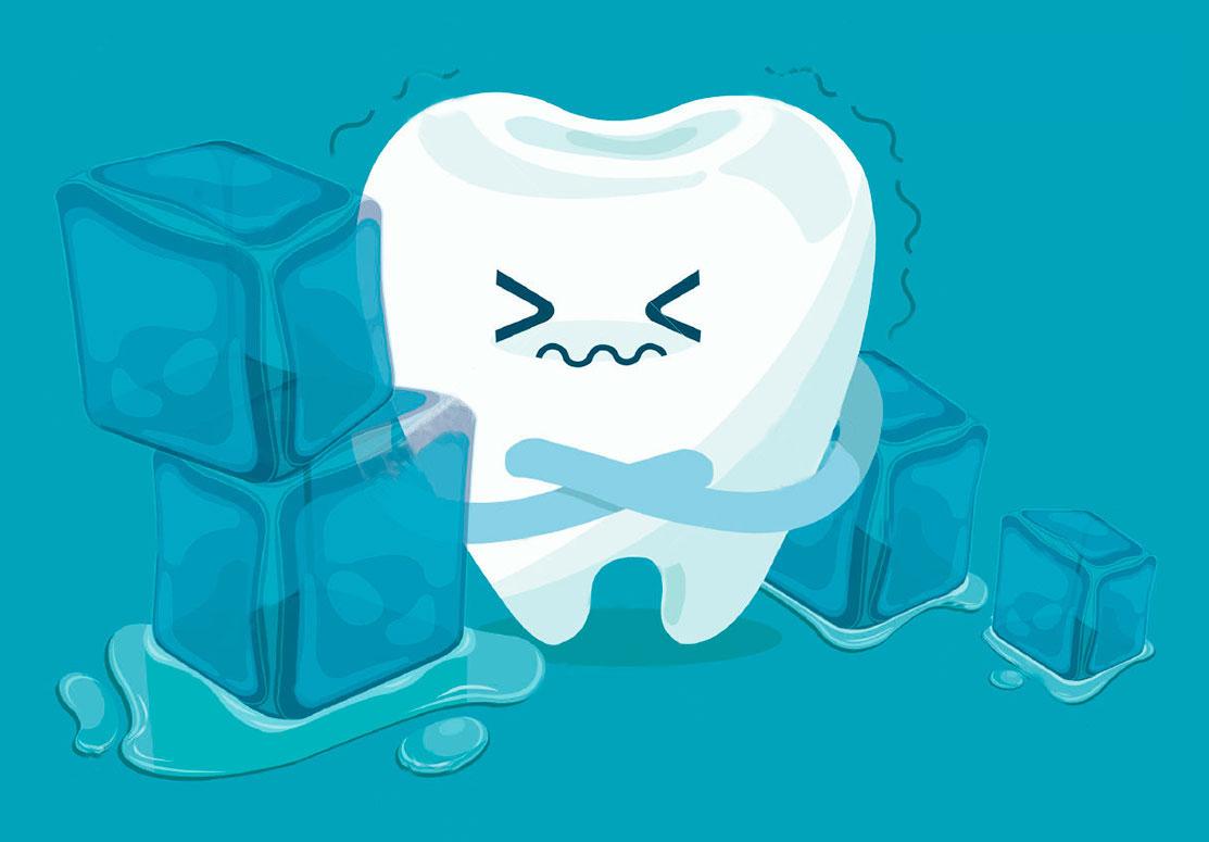 Síndrome del diente craquelado o agrietado.