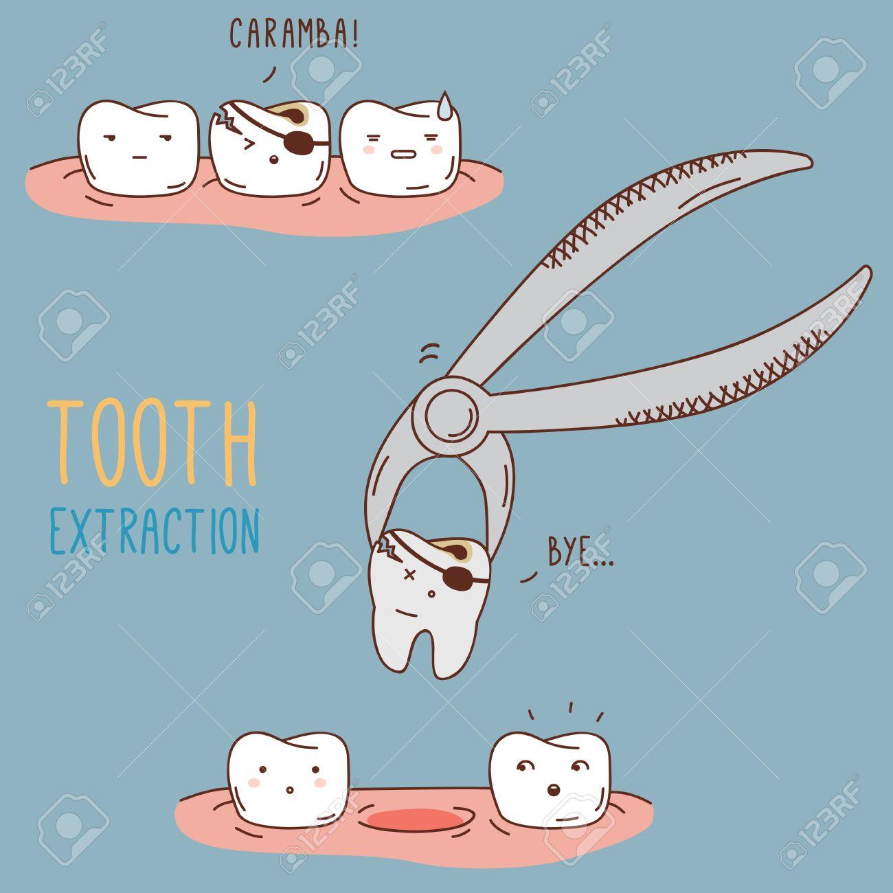 Por que se quita o extrae un diente?.