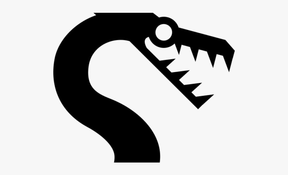 Sea Monster Clipart Icon.