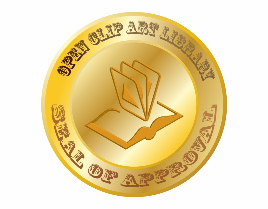 Clip Art Library Seal Of Approval Png.