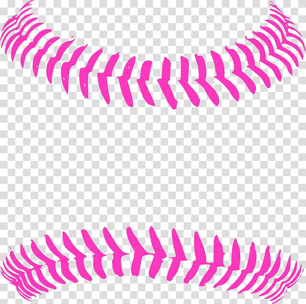 Baseball Stitch Seam , bright transparent background PNG.