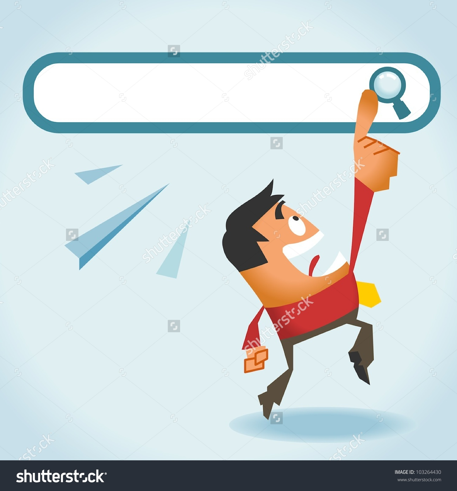 Search Engine All We Need Vector Stock Vector 103264430.