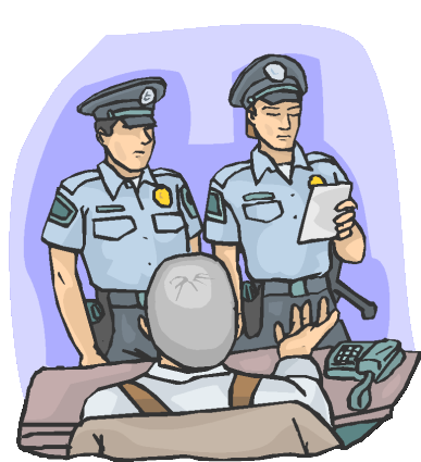 Search warrant clipart.
