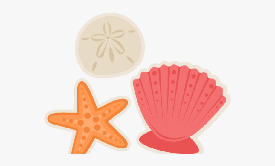 Glitter Clipart Seashell.