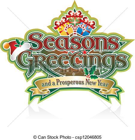Seasons greetings Clip Art Vector Graphics. 155,278 Seasons.